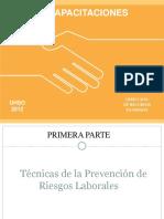 Tecnicas de Prevencion de Riesgos Laborales Final Plantas Portal