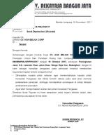 Surat Teguran Rbj