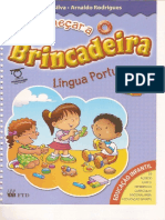 Vai Comecar a Brincadeira -Língua Portuguesa- A Partir de 4 Anos