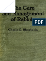 Care and Management of Rabbits-1920