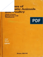 Diseases of Domestic Animals and Poultry Their Cause Symptoms and Treatment-1915