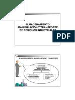 Almac Manip Transp RRSS
