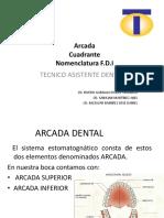 Arcada, Cuadrante, F.D.I
