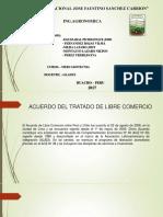 Exposicion de TLC PERU-CHILE