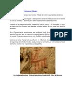 La Linea en La Prehistoria
