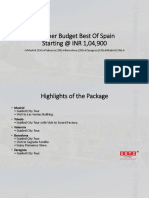 Summer Budget Best Of Spain With SOTC Holidays