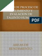 Diseño Del Proceso de Seguimiento y Evaluación Del Talento Humano