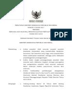 Kemenkes52017PMK No. 5 Tahun 2017 Ttg Rencana Aksi Nasional Penanggulangan PTM 2015-2019