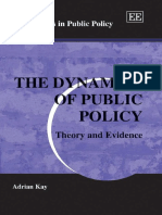 Dynamics of Public Policy