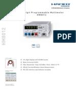 Data en HM8012