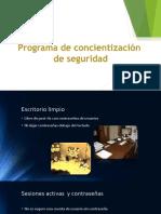 Programa de Concientización de seguridad