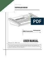 Te-2024dmx Console v2.0