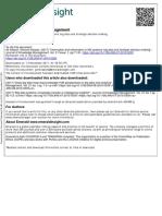 1-Big Data & Strategic Decision Making