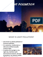 Light Pollution