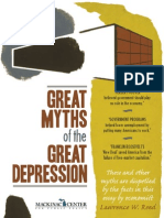 Refuting the myths about the Great Depression
