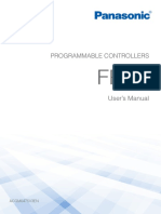 Panasonic Fp0r Programmable Controllers