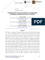 Comparative Study of Some Flc-based Mppt Methods for Photovoltaic Systems