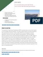 High Density Polyethylene (HDPE) Liners - Layfield