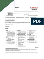 Oracle Certification Program