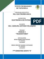 Unidad 2 Transistores
