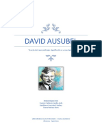 David Ausubel 1