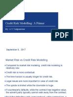 Credit Risk Modelling- A Primer