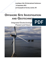 Offshore site investigation and geotechnics