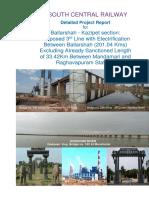DPR BPQ-KZJ 3rd Line With Survey Report, Check List Final & PIB 21-7-15 ROR 18.11