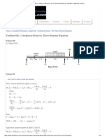 Problem 826 _ Continuous Beam by Three-Moment Equation _ Strength of Materials Review.pdf