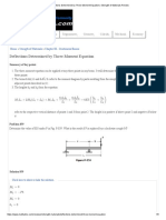 Deflections Determined by Three-Moment Equation _ Strength of Materials Review