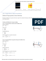Method of Superposition _ Beam Deflection _ Strength of Materials Review