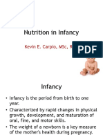 4 Nutrition in Infancy(1)