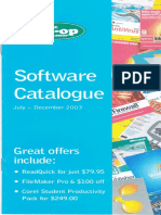 Co-op Software Catalogue July 2003