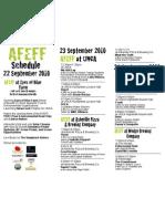 AFEFF Printable Schedule