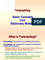 Forecasting Stationary Models