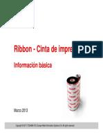 Consumibles Toshiba - Ribbon