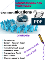 21706420 Models of Communication