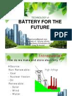 Ebt - Battery Technology