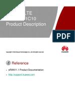 4.ENodeB LTE V100R011C10 Product Description