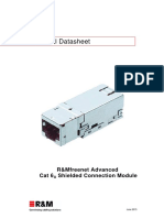 Data Sheet Module Cat6a Iso Stp