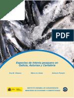 Especies de Interes Pesquero Galicia Asturias Cantabria
