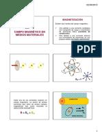 Capitulo 5 Campo Magnético en Medios Materiales