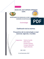 Prospectiva de Las Enzimología a Nivel Mundial 1