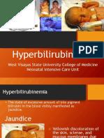 6 Hyperbilirubinemia NICU