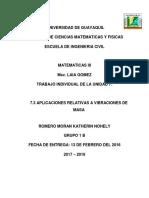 TRABAJO DE MATEMATICA UNIDAD 7 KATHERIN ROMERO ♥