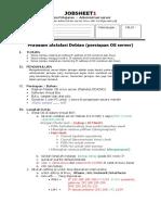Job Sheet 1 Installasi Dan Networking