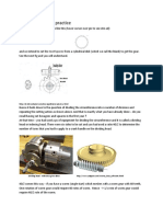 Gear Cutting by Differential Indexing on Milling Machine Workshop Practice II