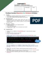 Job Sheet 3 Repository Dan Hostname