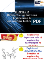 Chapter 2 Engineering vs Engineering Technology