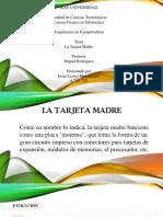 LA Tarjeta MADRE (ppt).pptx